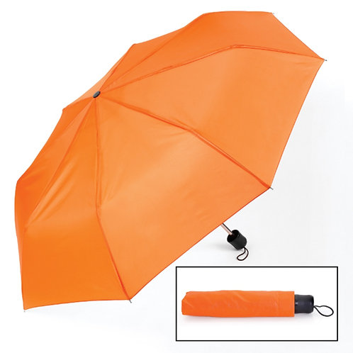 Small-Medium Neon Orange Umbrella