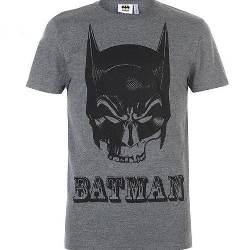 Mens Grey Batman T Shirt