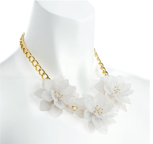 white chunky flower statement necklace.j