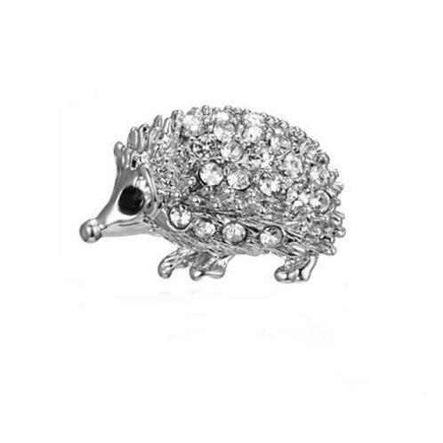 Tiny Hedgehog Pin Brooch