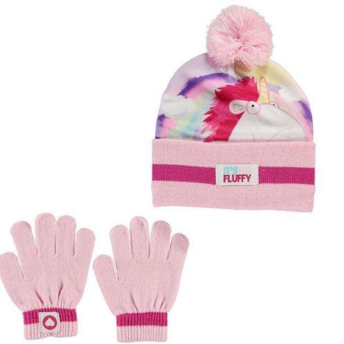 Infants Kids Despicable Me It's Fluffy Hat Gloves Set