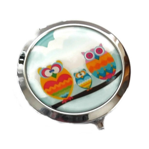 Three Owls Make Up Cosmetic Mirror
