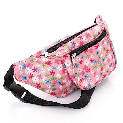 Light Pink Floral Bum Bag Fanny Pack
