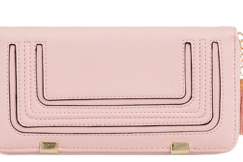 Light Pink Long Purse with Tassel