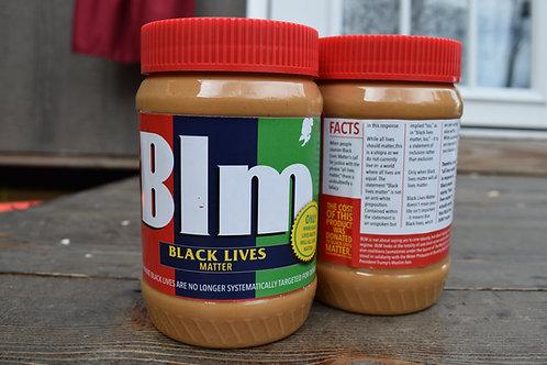 BLM Jif Peanut Butter