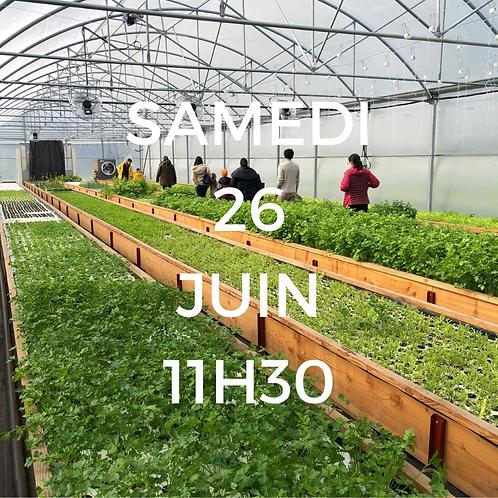 Visite de la ferme - 26 Juin à 11h30