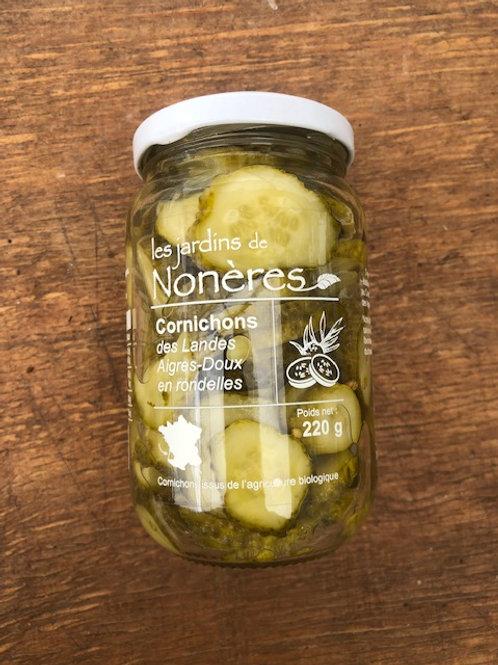 Cornichons des landes en pickles