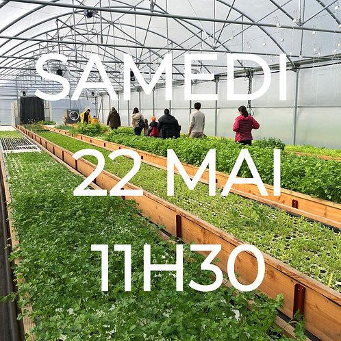 Visite de la ferme - 22 Mai à 11h30