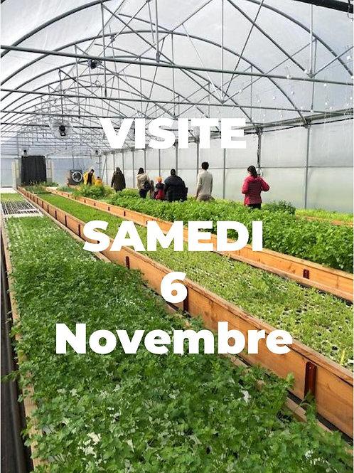 Visite de la ferme - 6 Nov à 9h30