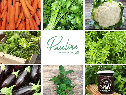 Le panier de la semaine de Pauline