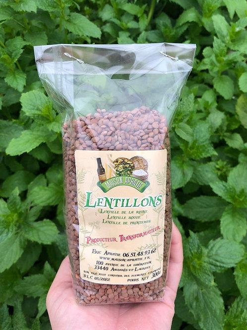 Lentillons rose (sachet 300g)