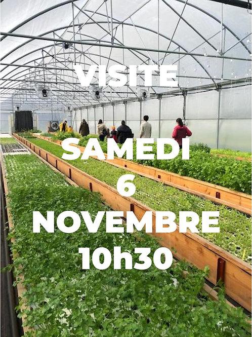 Visite de la ferme - 6 Nov. à 10h30