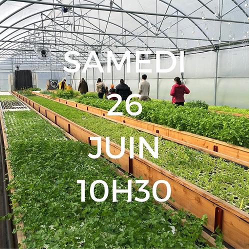 Visite de la ferme - 26 Juin à 10h30