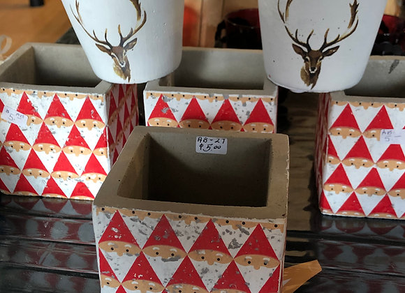 Holiday Reindeer Container