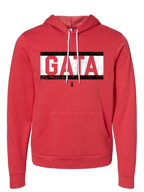 GATA Red Pants Hoodie