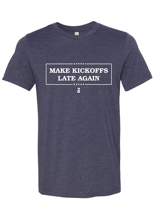 Make Kickoffs Late Again