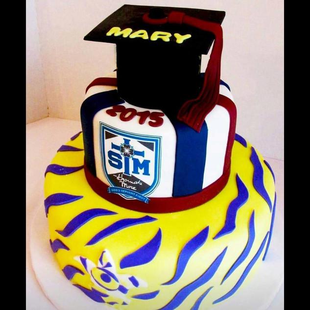 LSU and high school cake
