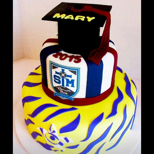 LSU and high school cake