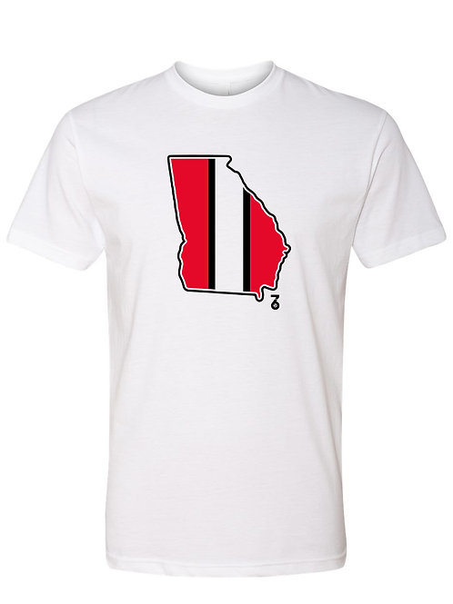 Throwback Red State Stripes