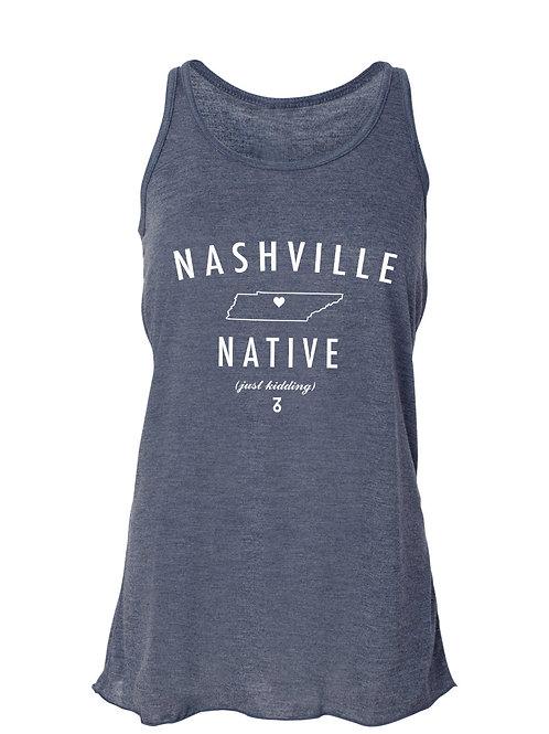 Nashville Native (JK) - Women's Tank