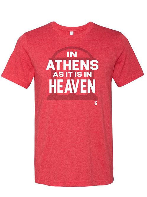 In Athens as it is in Heaven