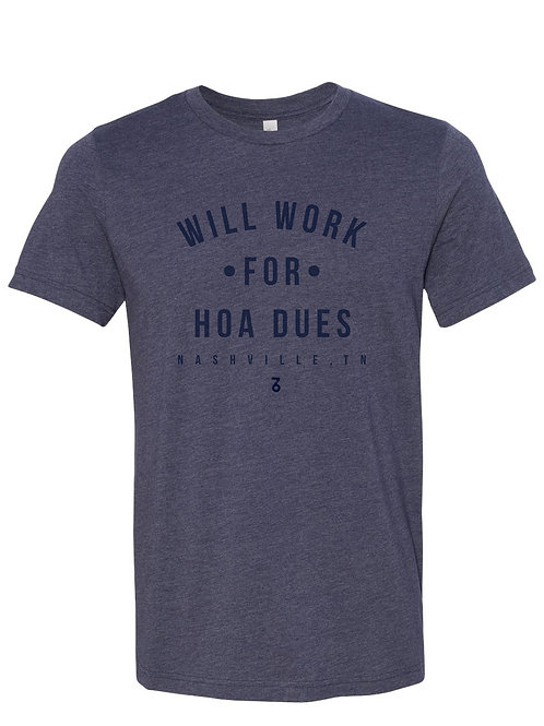 Will Work For HOA Dues