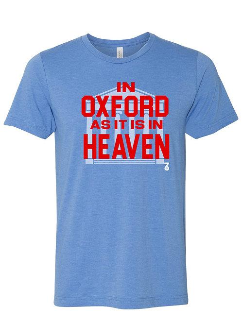 In Oxford as it is in Heaven