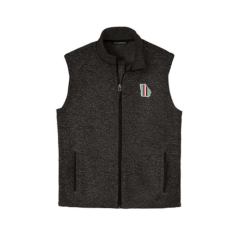 State Stripes Full Zip Vest