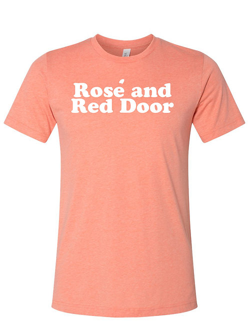 Rosé and Red Door