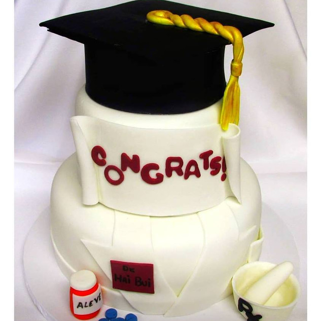 2 tier pharmacy cake