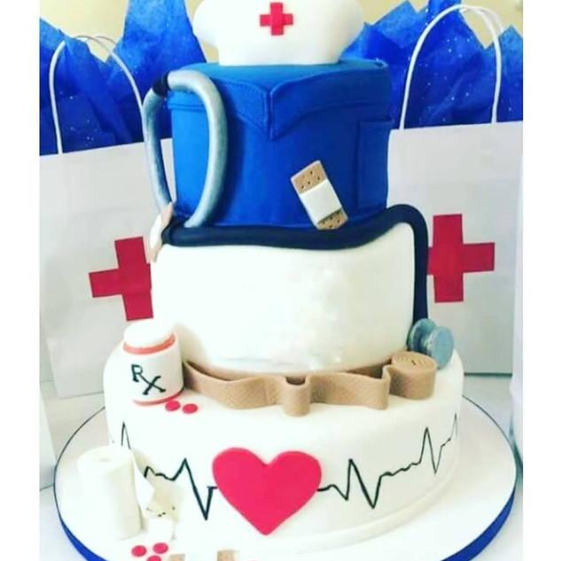 3 tier nursing cake