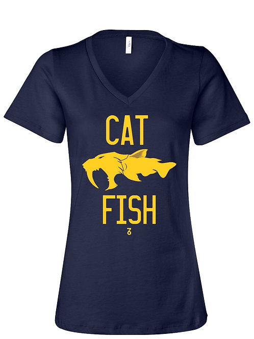 Cat Fish - V neck