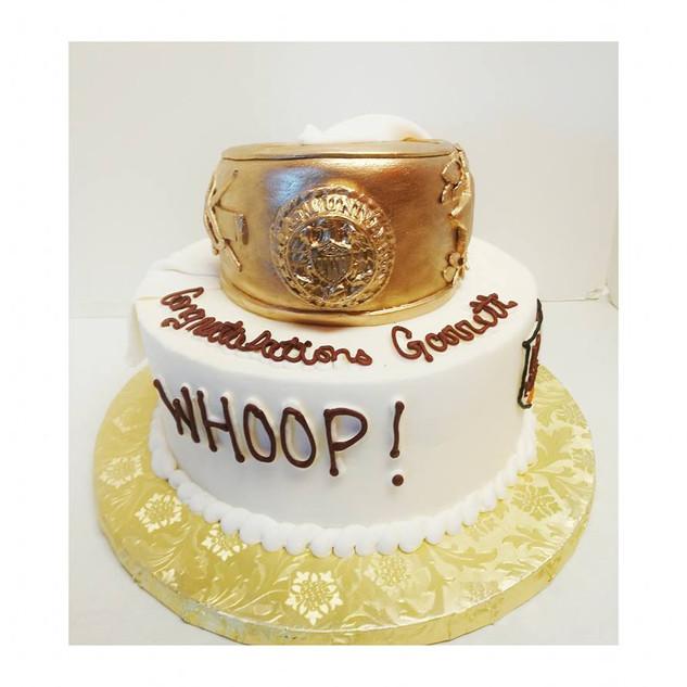 Aggie ring cake #2