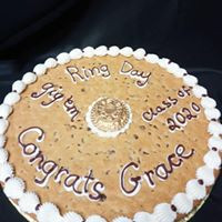 Ringn Day cookie cake