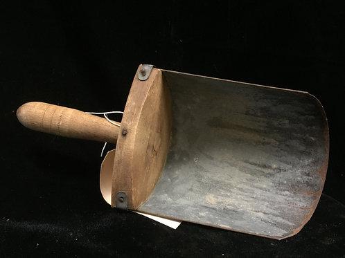 Antique feed scoop