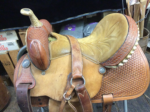 15 inch Hereford brand riding saddle