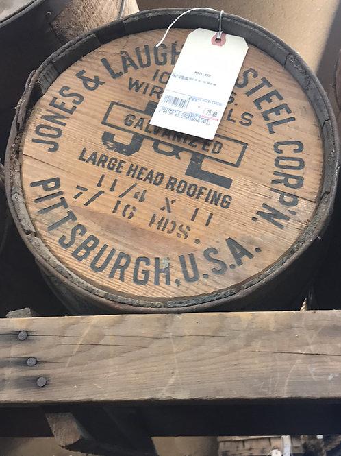 Antique Nail Kegs