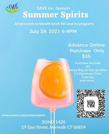Summer Spirits Fundraiser