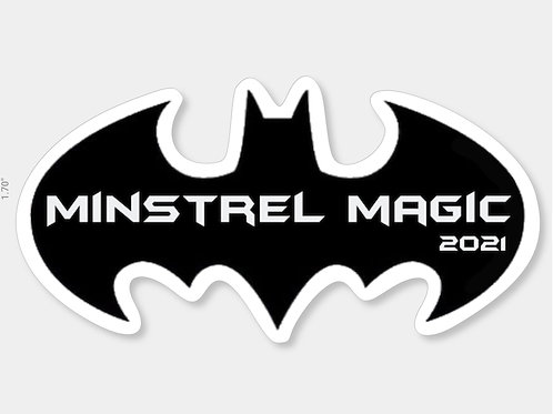 Minstrel Magic Sticker