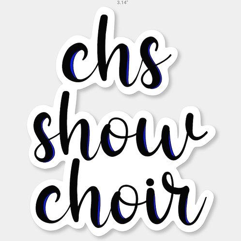 Carroll Show Choir Sticker