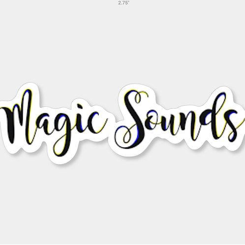 Magic Sounds Sticker