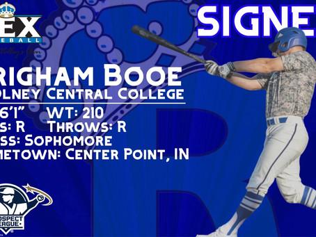 Player Spotlight: Brigham Booe returns to REX for second season.
