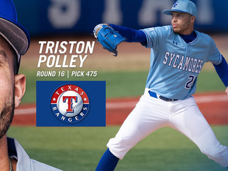 Where Are They Now? Pitcher Triston Polley Drafted By the Texas Rangers.
