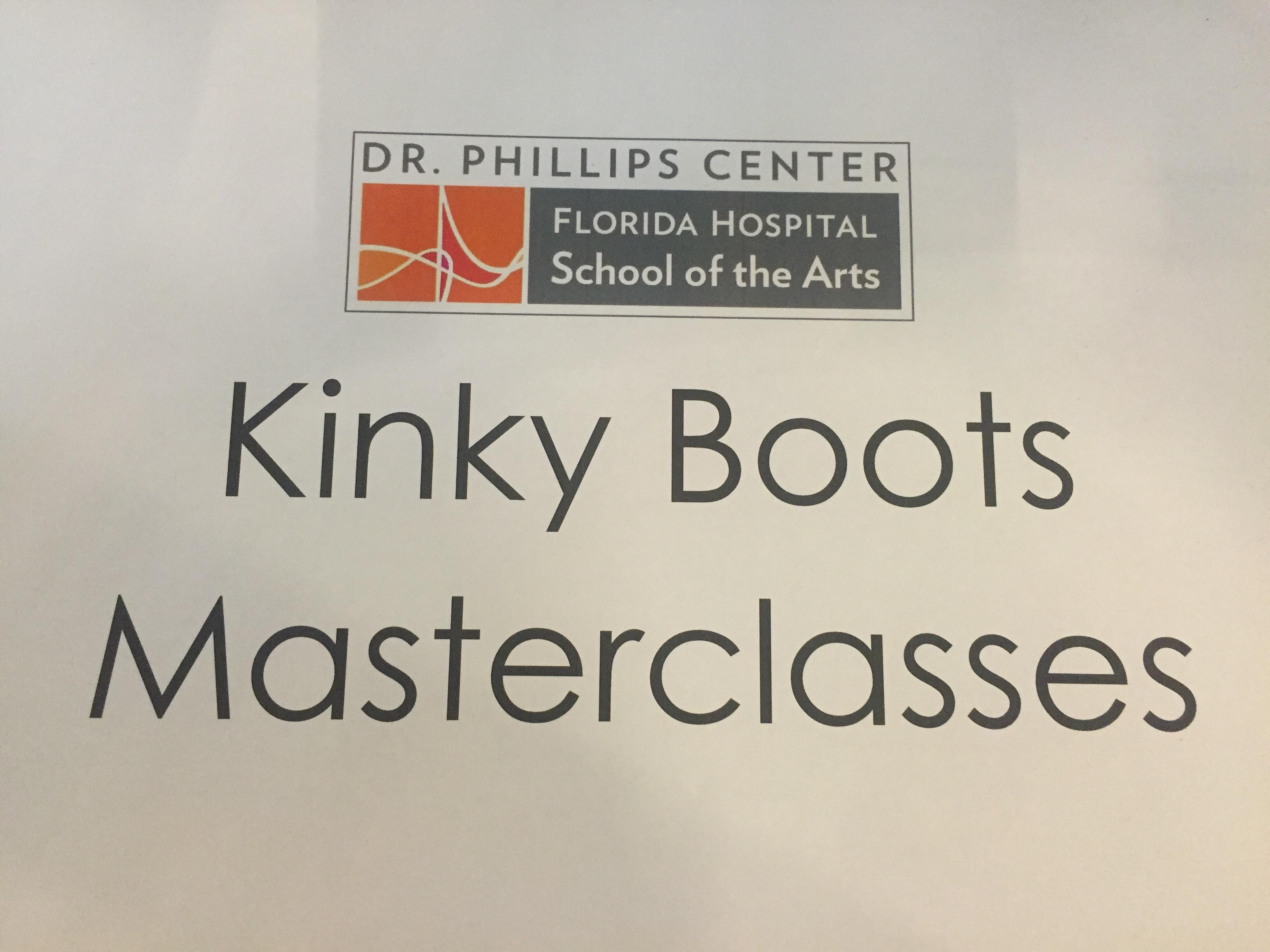 Kinky Boots_MasterClass