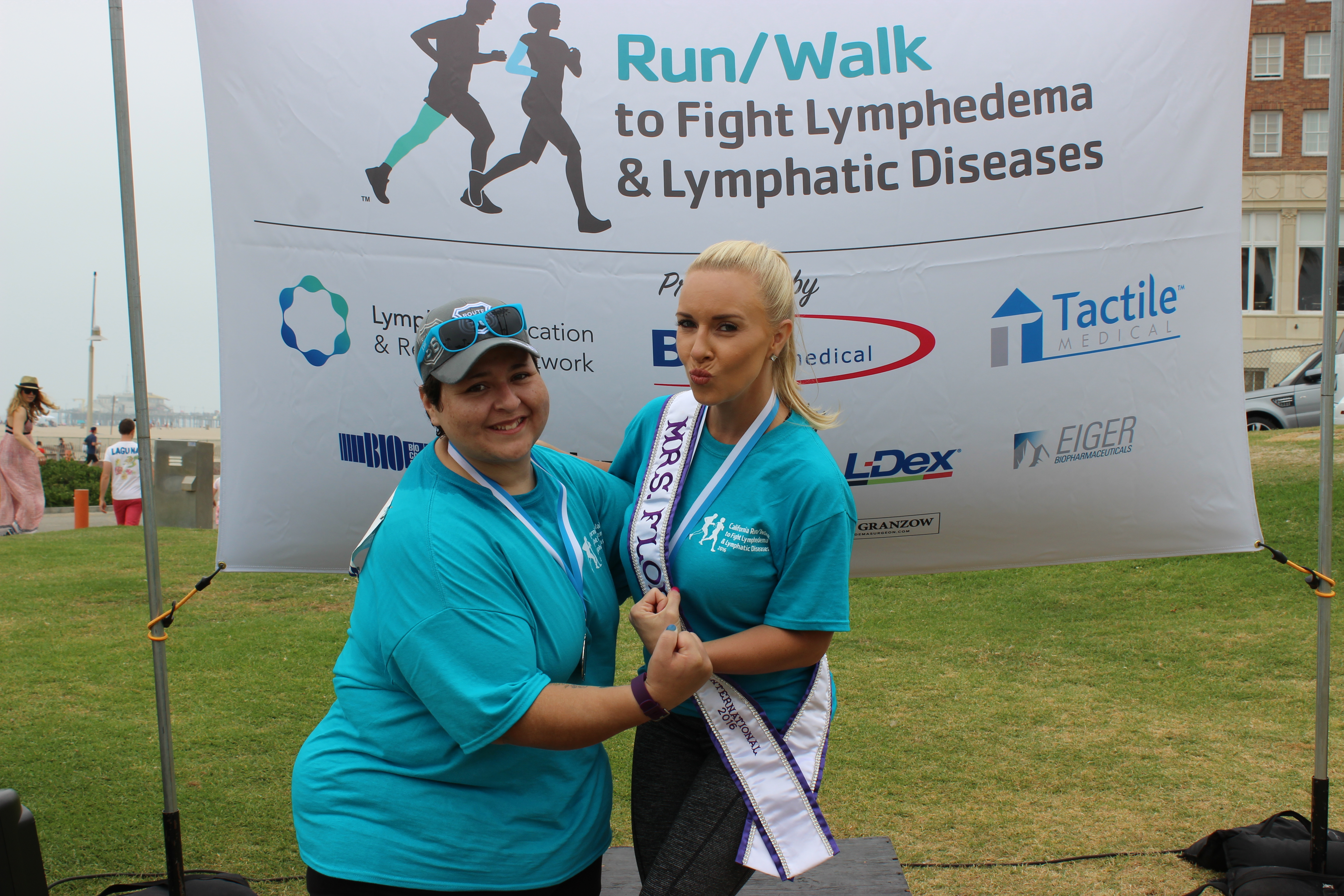 Lymphedema Fighters Maria & Amy - CA