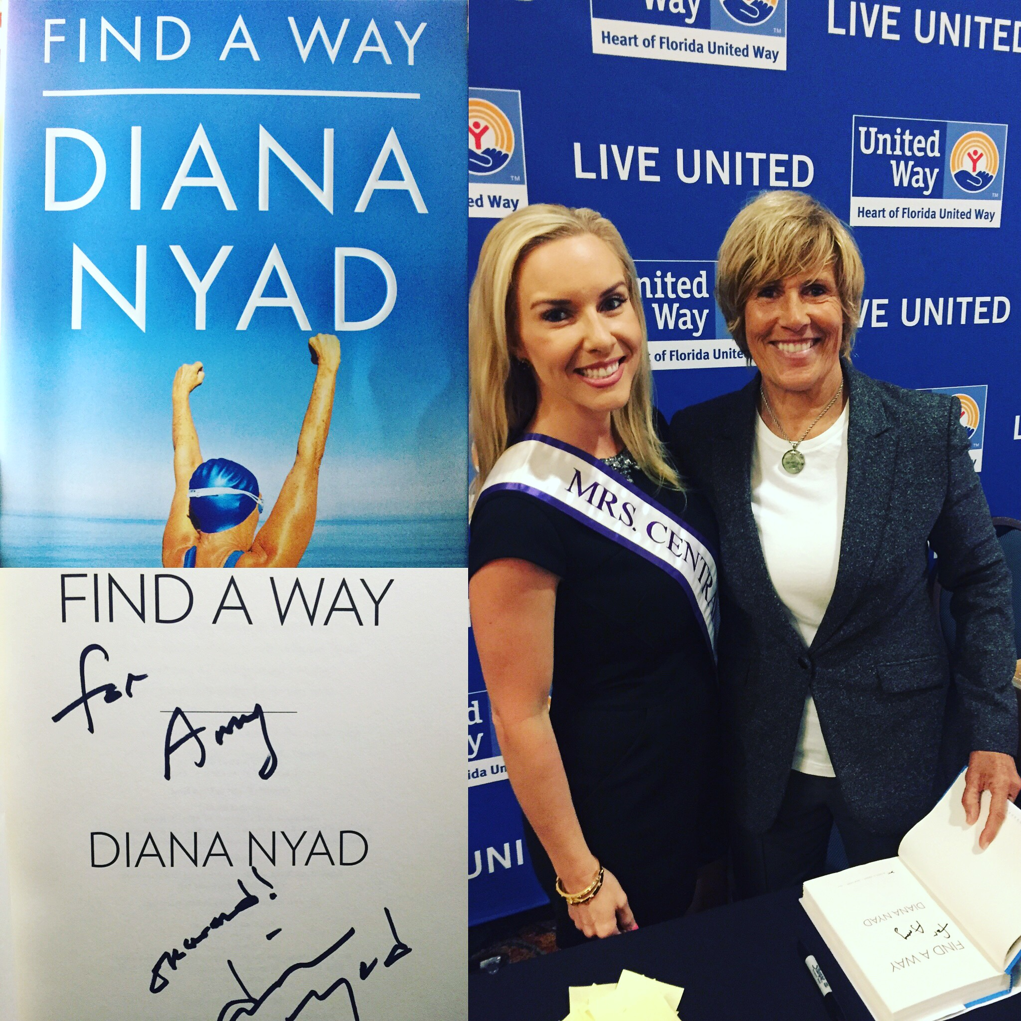 Amy & Diana Nyad_United Way Event
