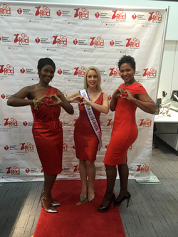 Amy Santiago_GoRed for Women Event