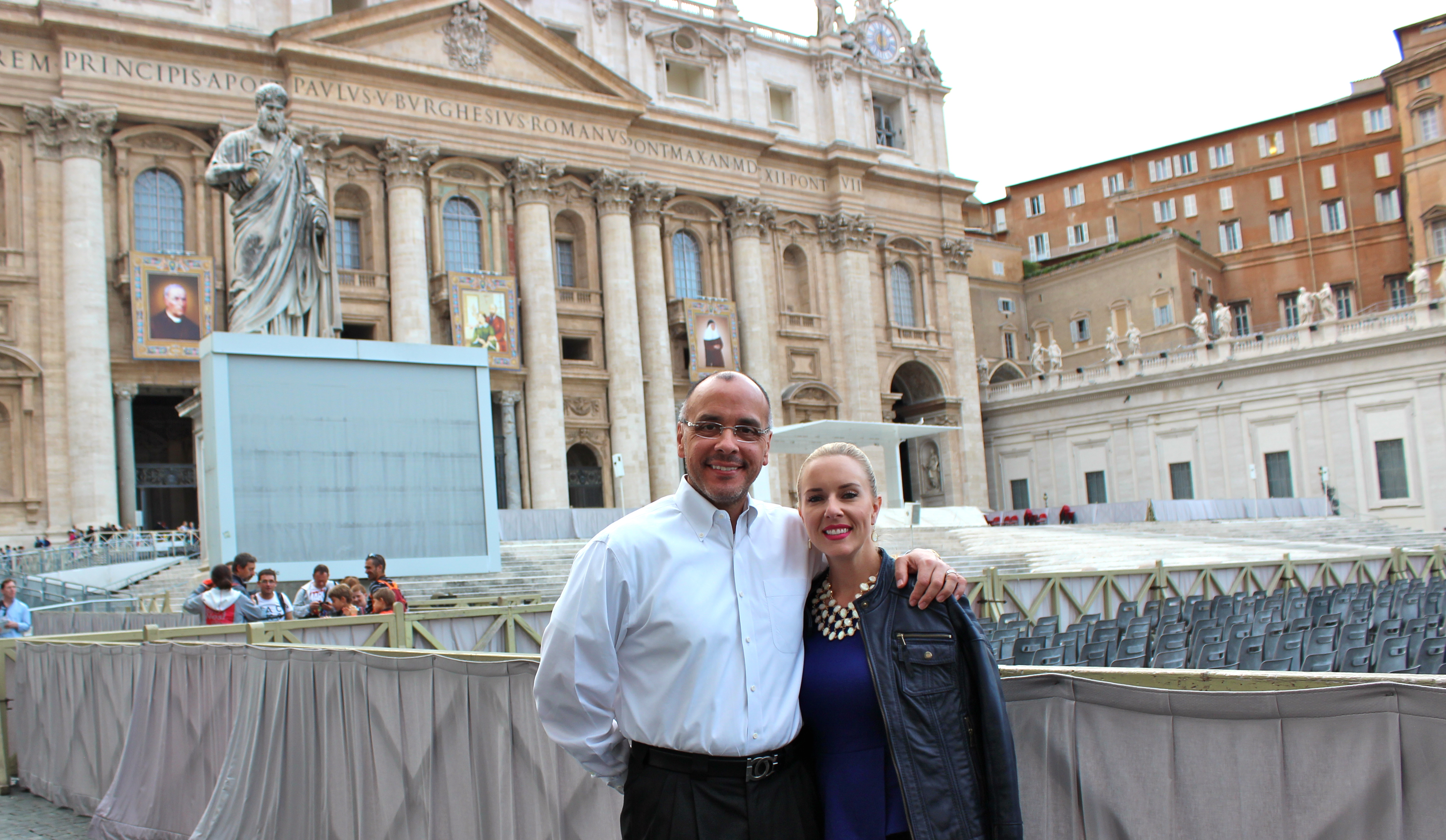Ruben and Amy Santiago_Vatican City