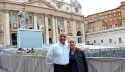 Ruben and Amy Santiago_Vatican City