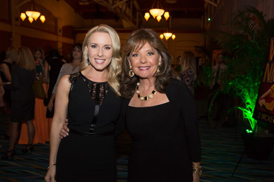 Amy Santiago & Dawn Wells_WESH Event